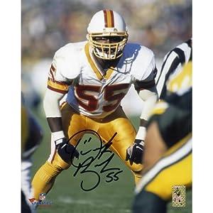 Derrick Brooks Tampa Bay Buccaneers Autographed 8
