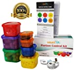 7 Piece Portion Control Containers Ki...
