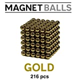 Magnet Balls Gold Edition - Magnetic Earth Magnet Puzzle in Collector's Tin