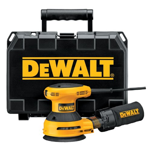 DEWALT D26451K  3 Amp 5-Inch Random Orbit Sander with Cloth Dust Bag