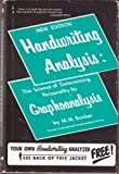 img - for Handwriting Analysis: The Science of Determining Personality by Graphoanalysis book / textbook / text book