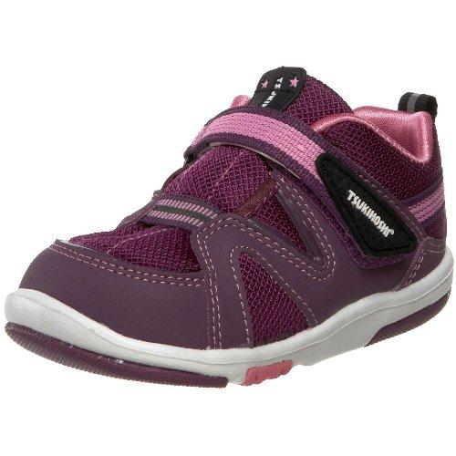 Tsukihoshi Baby03-Maru Fashion Sneaker (Toddler),Purple/Pink,5 M US Toddler