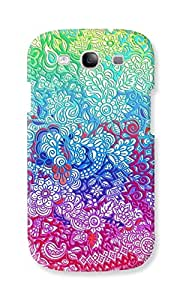 EYP Flower Gardens Pattern Back Cover Case for Samsung Galaxy S3 Neo GT-I9300
