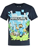 Official Minecraft Adventure Boy's Navy T-Shirt