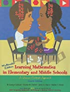 Learning Mathematics in Elementary and Middle Schools by Cathcart, George S.