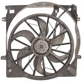 Four Seasons 75657 Radiator Fan Motor Assembly