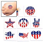 51zbIjZWioL. SL500 SS160  Temporary Patriotic Tattoos (6 dz)   Just $5.99!
