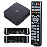 Amcctvshop 1pc High Quality Dual Core Android 4.2 Smart TV Box XBMC 1.6Ghz WIFI 8GB Full HD 1080P EU Plug by Bessky(TM)