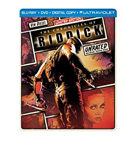 The Chronicles of Riddick (Steelbook) (Blu-ray + DVD + Digital Copy + UltraViolet)