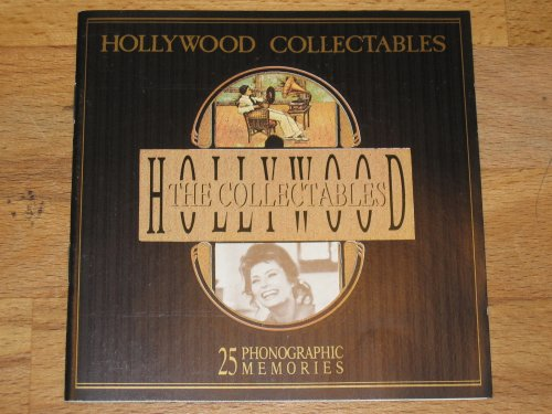 The Hollywood Collectables 25 Phonographic Memories by Barbara Stanwyck, Dorothy Lamour Rudolph Valentino, Bette Davis, Robert Michum Dolores Del Rio, Mae West, Marlon Brando James Stewart, Jean Simmons, ava Gardner Gloria Swanson and Tallula Bankhead, Noel Coward Jean Harlow