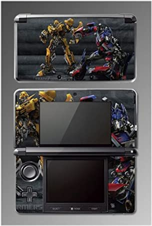 Transformers Optimus Prime Bumblebee Movie Cartoon Game Vinyl Decal Cover Skin Protector #5 for Nintendo 3DS