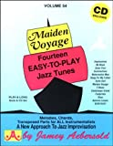 img - for Vol. 54, Maiden Voyage: Fourteen Easy-To-Play Jazz Tunes (Book & CD Set) (Play- a-Long) book / textbook / text book