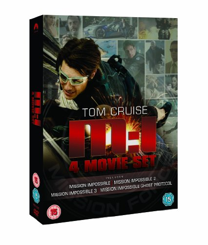 Mission Impossible: Quadrilogy (1-4 Box Set) [DVD]