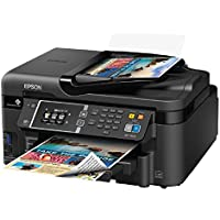 Epson WF-3620 Wireless Color Inkjet All-in-One Printer (Black)