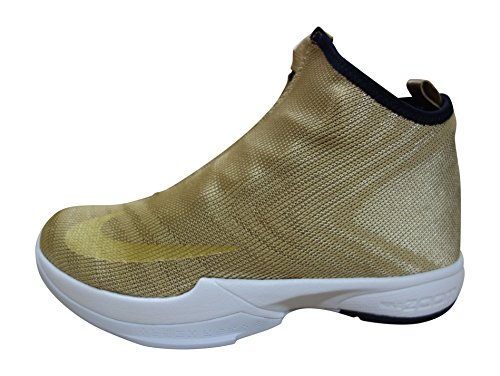 Nikw Men's Zoom Kobe Icon Jacquard Basketball Shoes-Metallic Gold/Black-11.5
