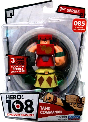 Hero 108 Kingdom Krashers Series 1 Action Figure #085 Tank Commander