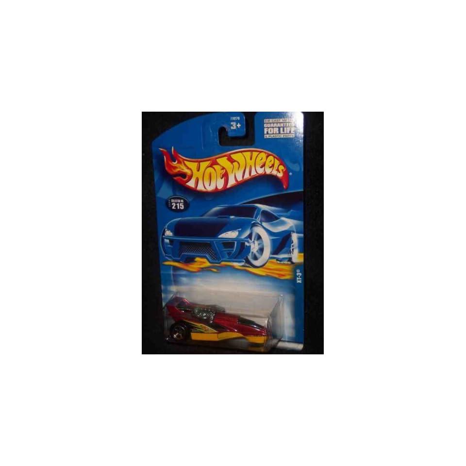 #2000 215 XT 3 2001 card Collectible Collector Car Mattel Hot Wheels