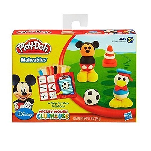 Play doh Disney Makeables Set Featuring Mickey Mouse