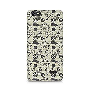 TAZindia Printed Mobile Hard Back Case Cover For Huawei Honor 4C