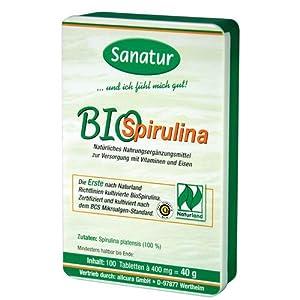 Sanatur Bio Spirulina 100 Tabletten