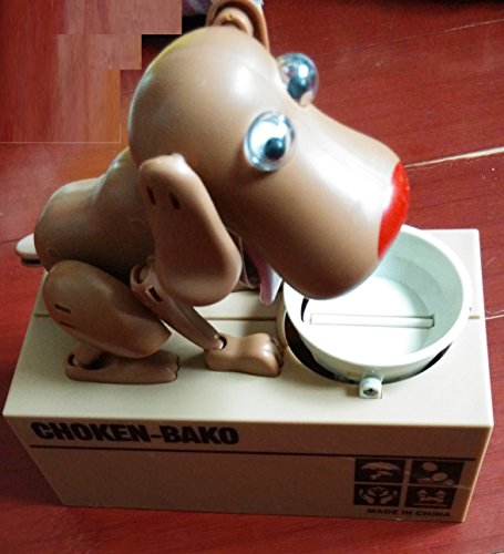 My Dog Piggy Bank (Brown) - 1