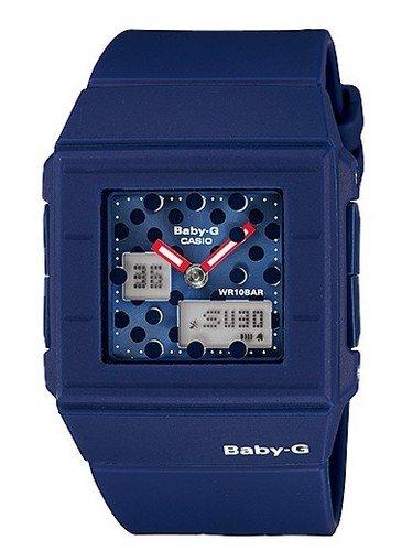 CASIO [CASIO] Watch Casio CASIO baby-g baby G overseas model imports CASKET Series casket series 10 ATM water resistant diving watch watch sports blue