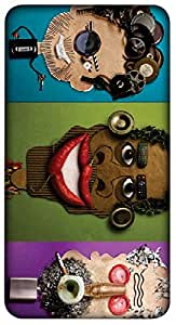 Timpax Light Weight Hard Back Case Cover Printed Design : We are Puppets.100% Compatible with Micromax A106 Unite 2