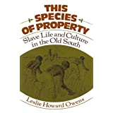 This Species of Property: Slave Life and Culture in the Old South (Galaxy Books)