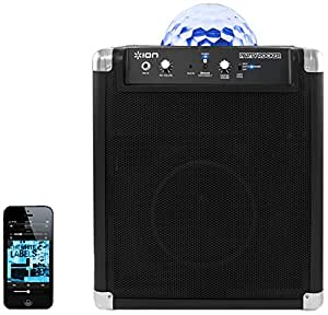 ION Party Rocker portable Bluetooth speaker system with built-in light show (Old Model)