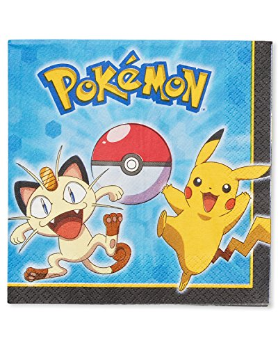 American Greetings Pokemon Lunch Napkins (16 Count) - 1