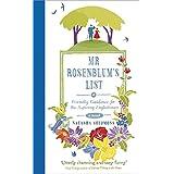 Mr Rosenblum's List: or Friendly Guidance for the Aspiring Englishmanby Natasha Solomons