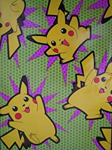 Amazon.com - POKEMON WRAPPING PAPER - Gift Wrap Paper