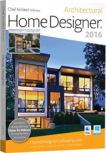 Chief Architect Home Designer Architectural 2016 Recomended Products