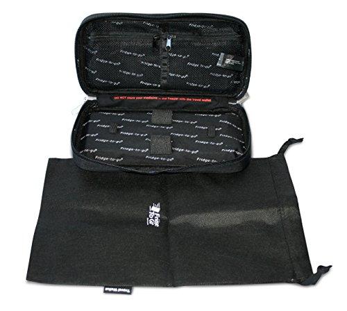 Fridge To Go Medical Travel Cooler Bag Wallet For