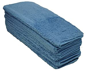 Eurow Microfiber Double Density Towels 12 X 16 in 660 GSM Eurow Shag 10-Pack