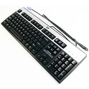 hp 435302 001 ps 2 keyboard basic vista silver. Black Bedroom Furniture Sets. Home Design Ideas