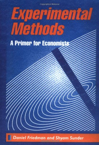 Experimental Methods: A Primer for Economists
