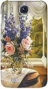 Timpax protective Armor Hard Bumper Back Case Cover. Multicolor printed on 3 Dimensional case with latest & finest graphic design art. Compatible with Samsung I9500 Galaxy S4 Design No : TDZ-22057