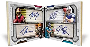 2012 Topps Strata Signatures Football 18 Pack Hobby Box (1 Autograph 1 Autograph... by Strata