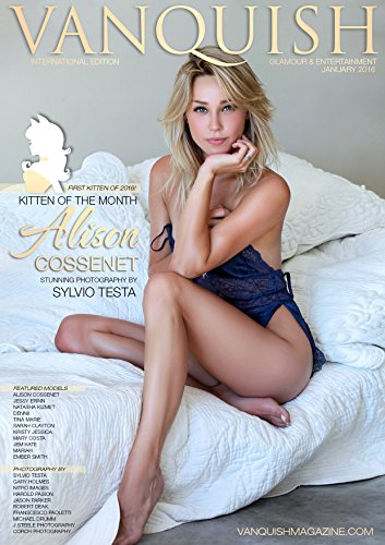 Vanquish Magazine - January 2015 - Alison Cossenet: Glamour & Entertainment Magazine