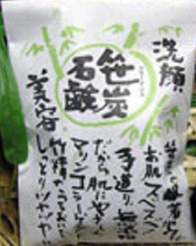笹炭洗顔石鹸 60g