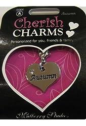 A Personal Name Charm Bracelet/necklace/keychain: Autumn
