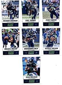 2014 Score Football Card Team Set  Seattle Seahawks  SuperBowl