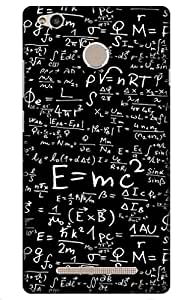 science Designer Printed Back Case Cover for Redmi 3S