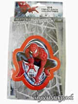 Marvel Spider-Man 3 Pack of 24 Treat Sack Valentines