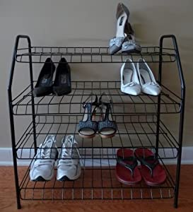 Click Here For good Size ATHome Contemporary Shoe Racks