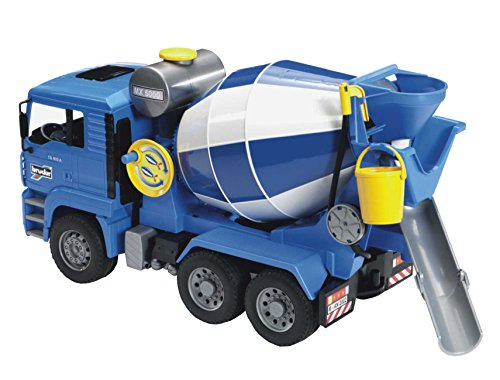 Bruder MAN Cement Mixer (Toy Cement Mixer Truck compare prices)