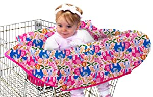 Babe Ease The Chic Clean Shopper Cart Cover, Pink