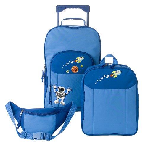 Boys Backpack Value Set - Blue