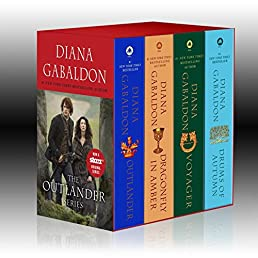 Outlander 4-Copy Boxed Set: Outlander, Dragonfly in Amber, Voyager, Drums of Autumn